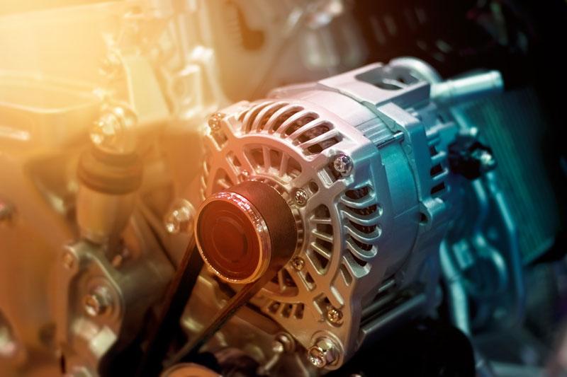 interior of car engine